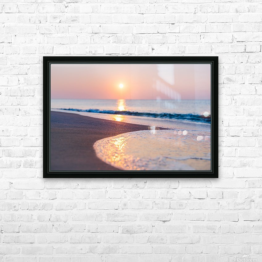 Seashore Bliss HD Sublimation Metal print with Decorating Float Frame (BOX)