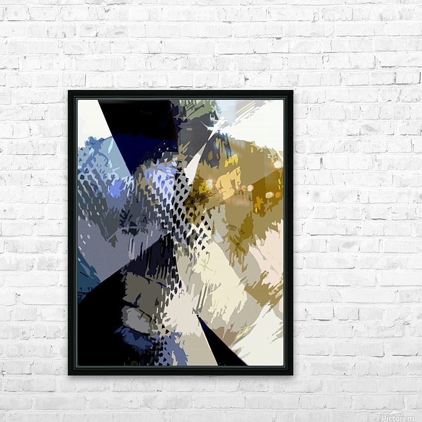 S H I A HD Sublimation Metal print with Decorating Float Frame (BOX)