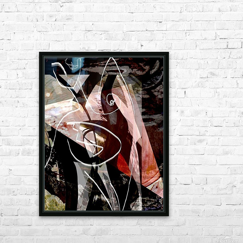 P A R I S HD Sublimation Metal print with Decorating Float Frame (BOX)