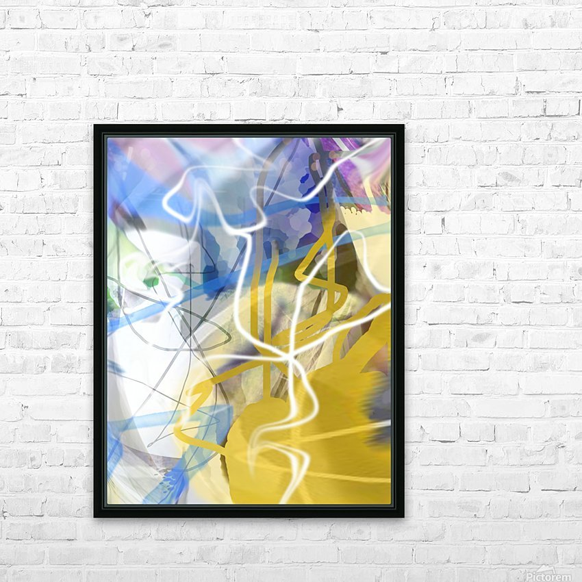 L O A HD Sublimation Metal print with Decorating Float Frame (BOX)