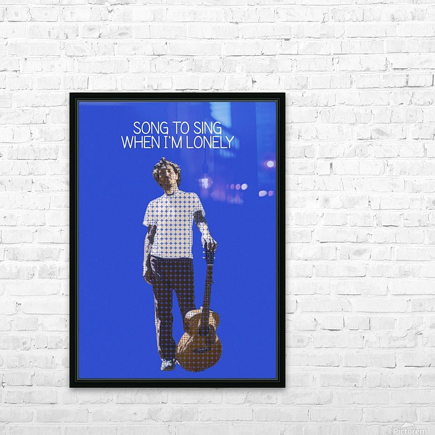 Song To Sing When Im Lonely   John Frusciante HD Sublimation Metal print with Decorating Float Frame (BOX)