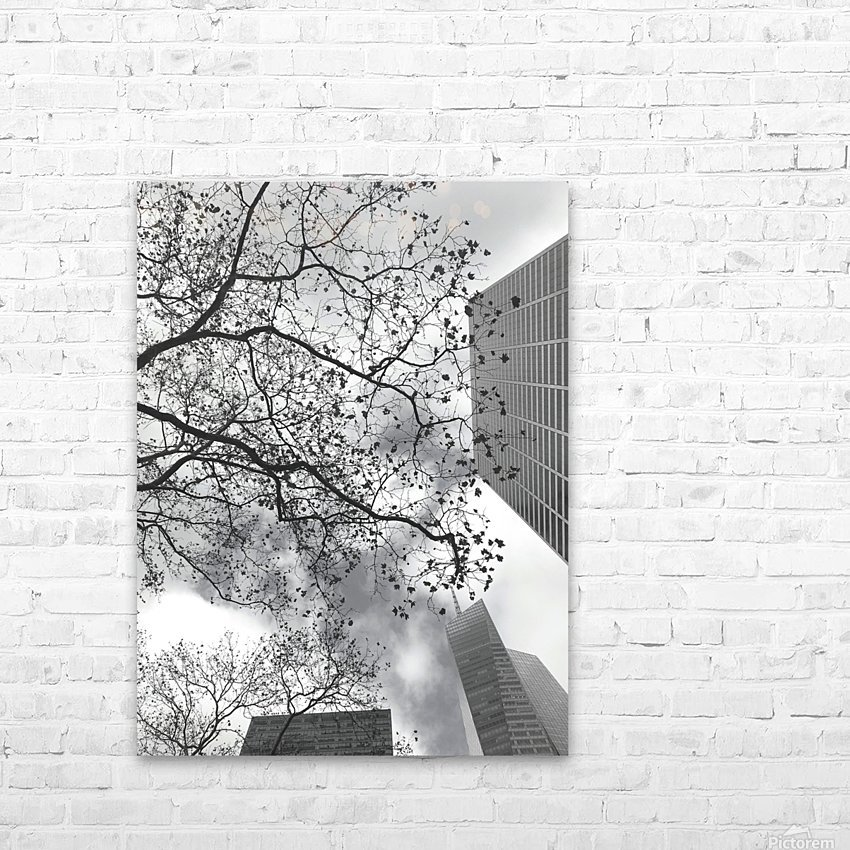 NYC Placement HD Sublimation Metal print with Decorating Float Frame (BOX)