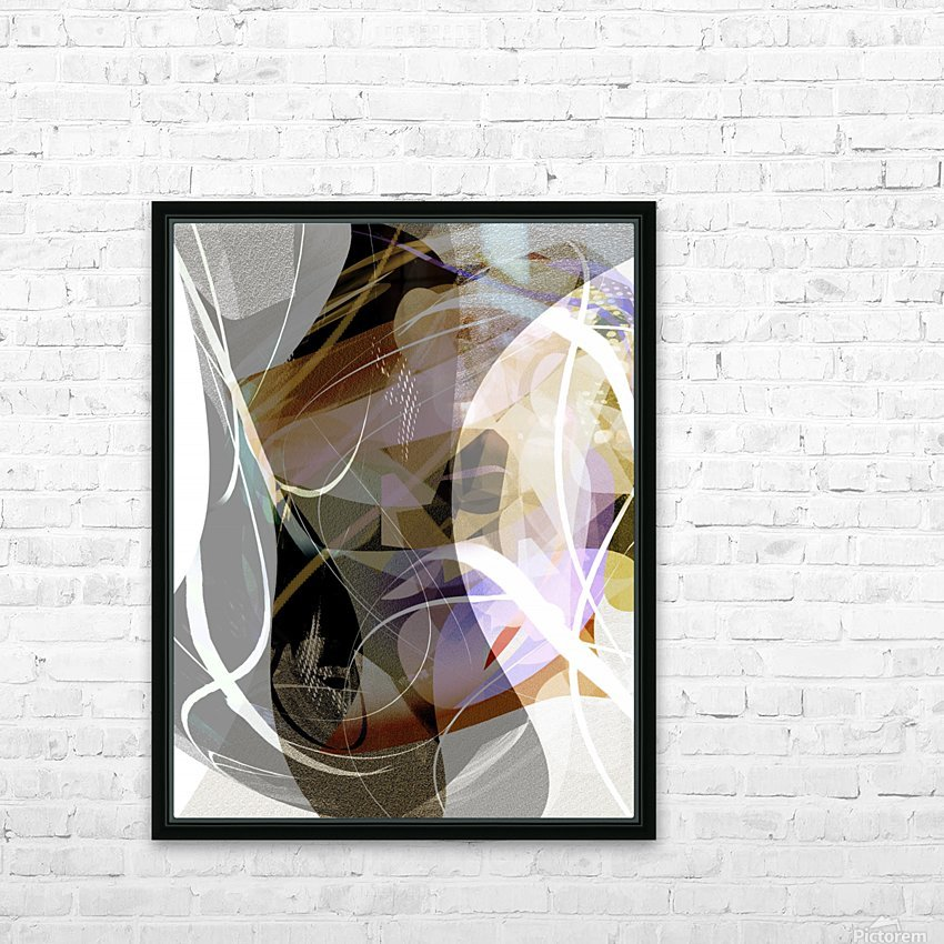 A M U HD Sublimation Metal print with Decorating Float Frame (BOX)