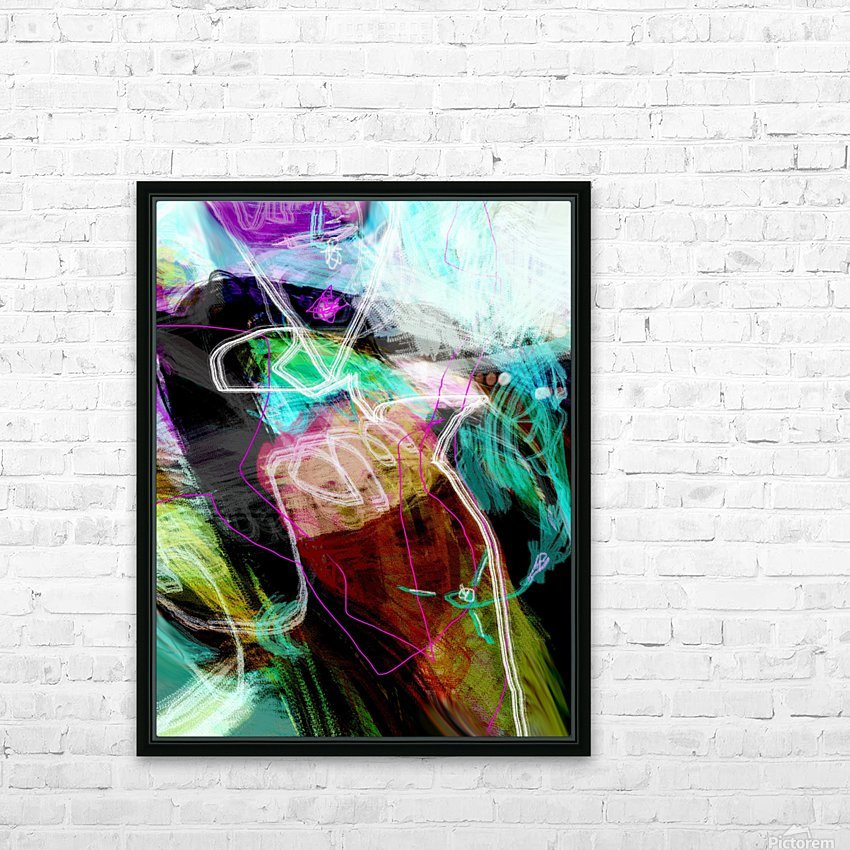 N O B U HD Sublimation Metal print with Decorating Float Frame (BOX)