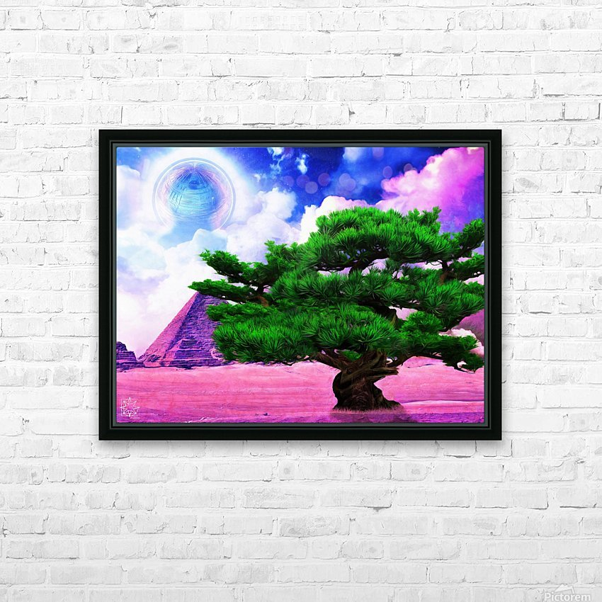The Sublimate Tree HD Sublimation Metal print with Decorating Float Frame (BOX)