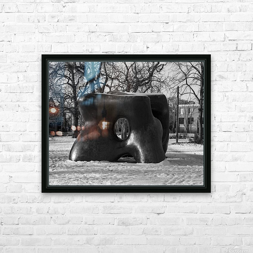 Two Large Forms at Grange Park 1 HD Sublimation Metal print with Decorating Float Frame (BOX)