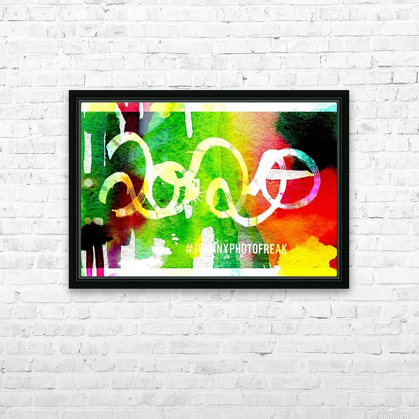 INKED 2020  HD Sublimation Metal print with Decorating Float Frame (BOX)