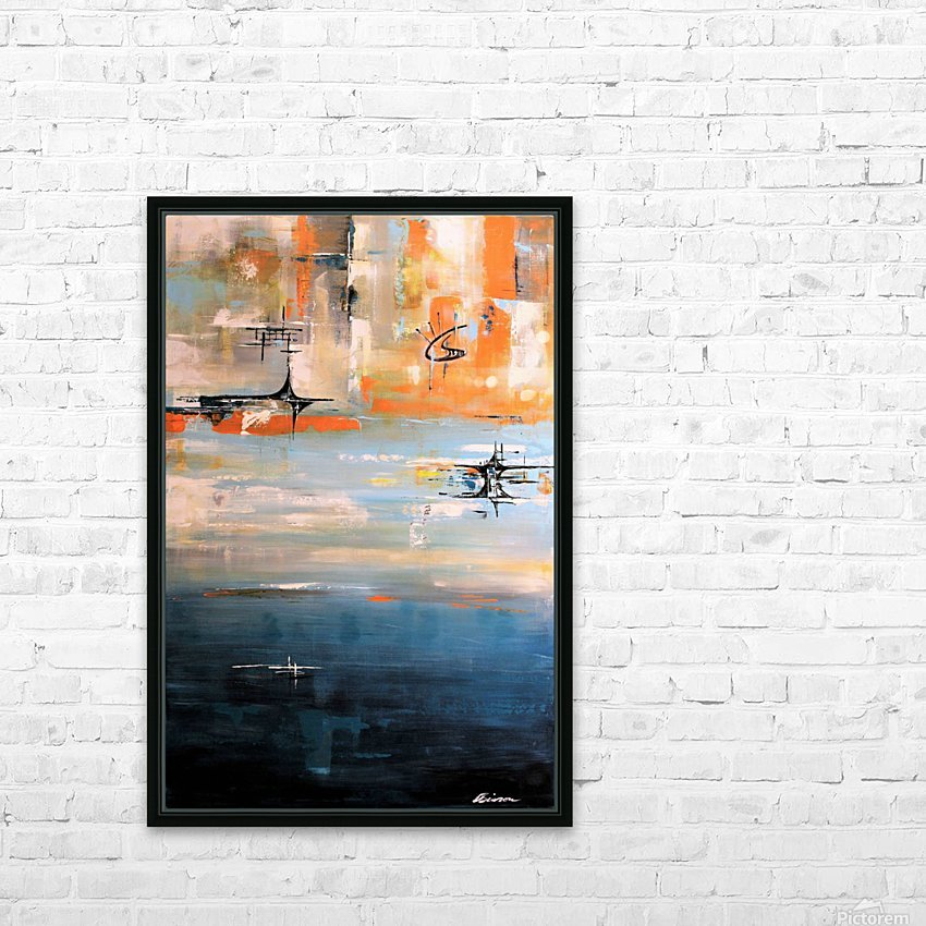 Its now or never IV HD Sublimation Metal print with Decorating Float Frame (BOX)