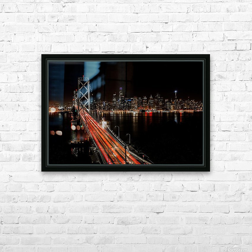 Sinner City HD Sublimation Metal print with Decorating Float Frame (BOX)