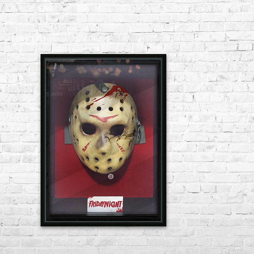 Jason HD Sublimation Metal print with Decorating Float Frame (BOX)