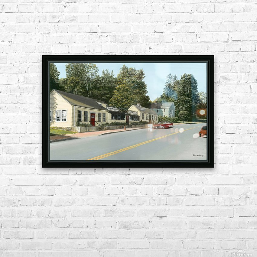 Sandy Hook Diner - Newtown Series 16 X 24  HD Sublimation Metal print with Decorating Float Frame (BOX)