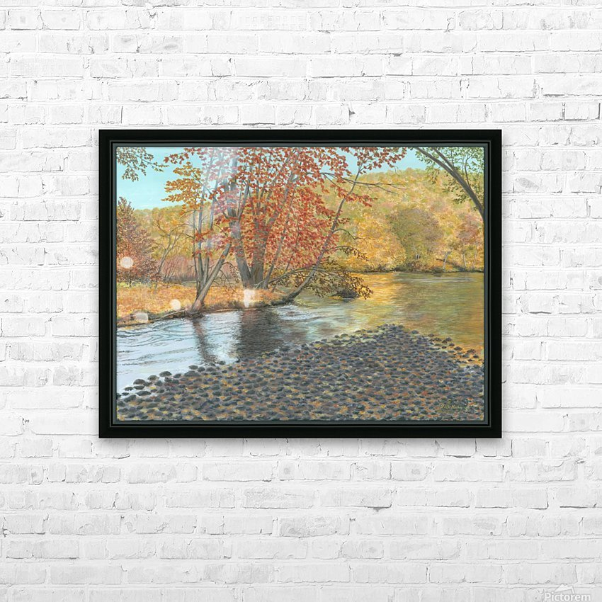 Two Rivers - Newtown Series 18X24 HD Sublimation Metal print with Decorating Float Frame (BOX)