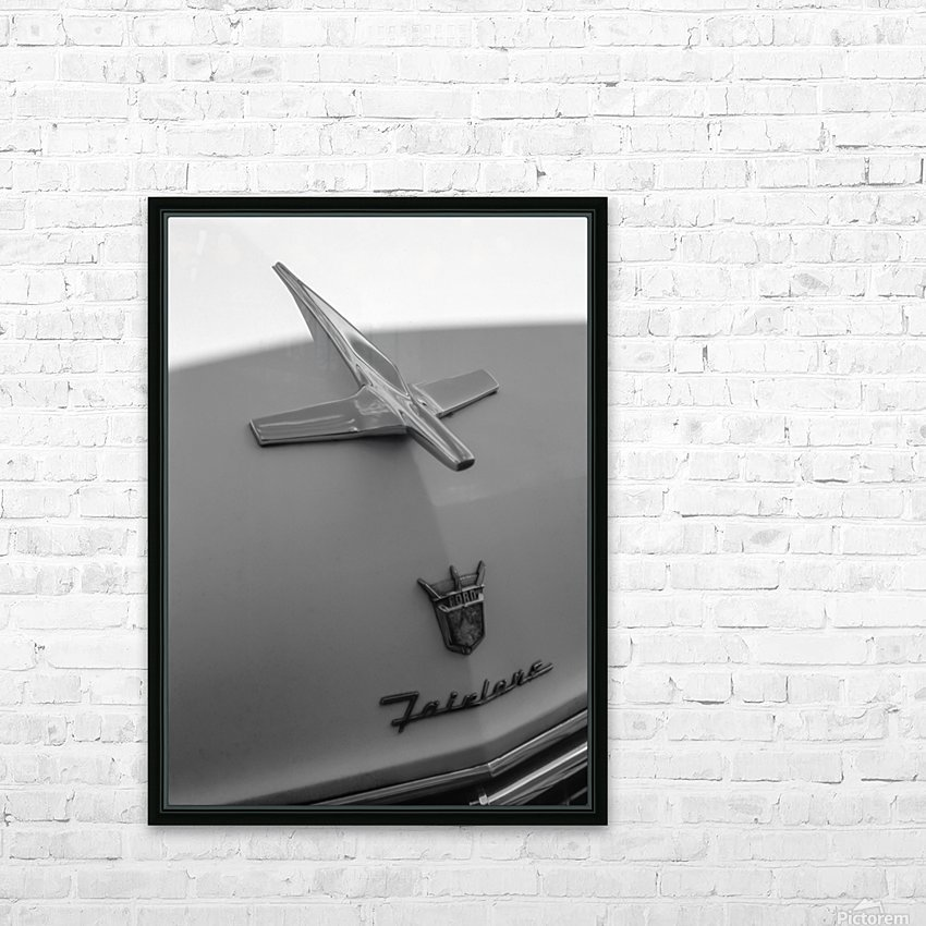 Fairlane in the Shade HD Sublimation Metal print with Decorating Float Frame (BOX)