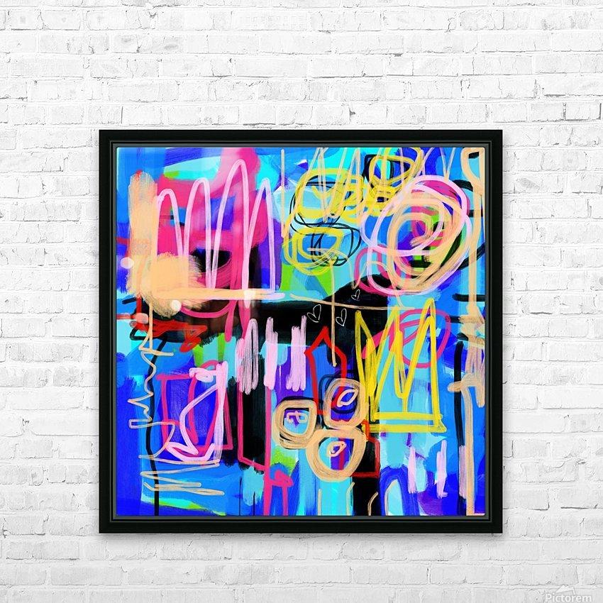Dog Kingdom HD Sublimation Metal print with Decorating Float Frame (BOX)
