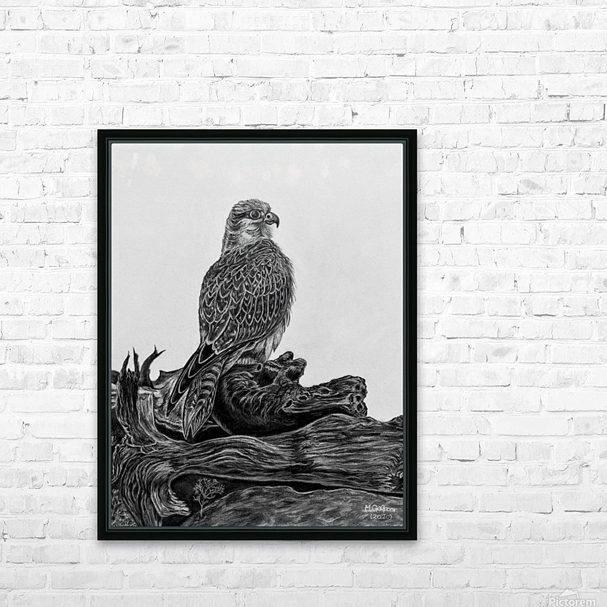 Gyrfalcon HD Sublimation Metal print with Decorating Float Frame (BOX)