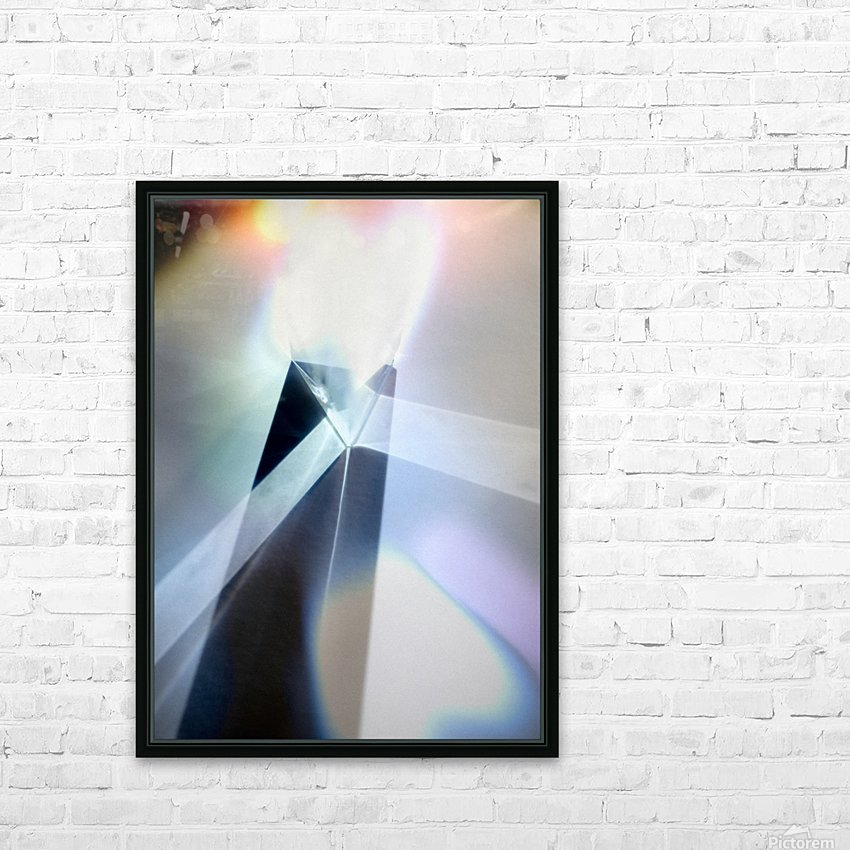 Abstract 1 HD Sublimation Metal print with Decorating Float Frame (BOX)