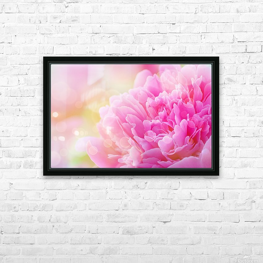 Pink Dream HD Sublimation Metal print with Decorating Float Frame (BOX)