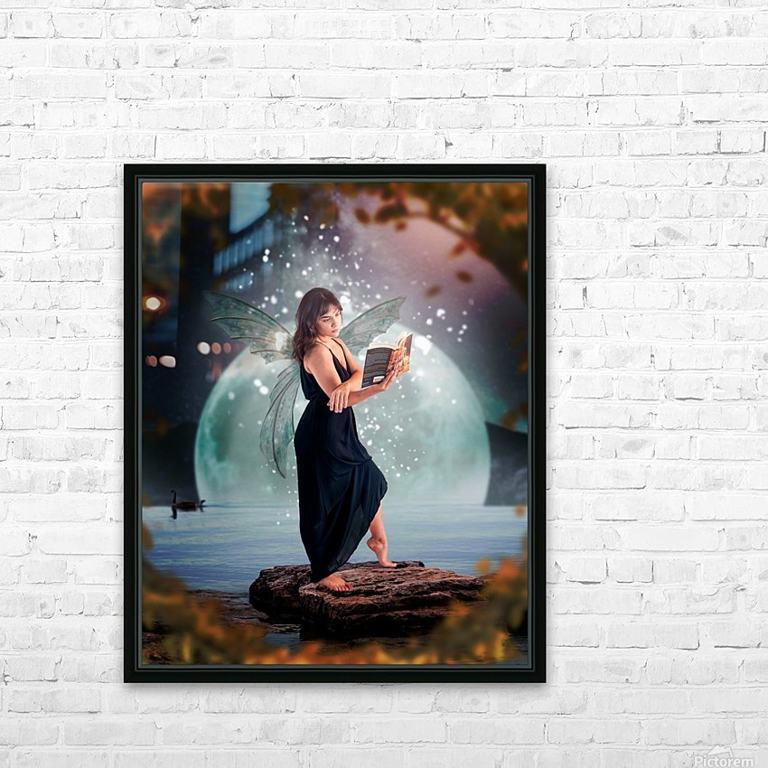 Fairy portrait HD Sublimation Metal print with Decorating Float Frame (BOX)