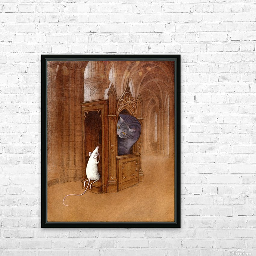 pure soul HD Sublimation Metal print with Decorating Float Frame (BOX)