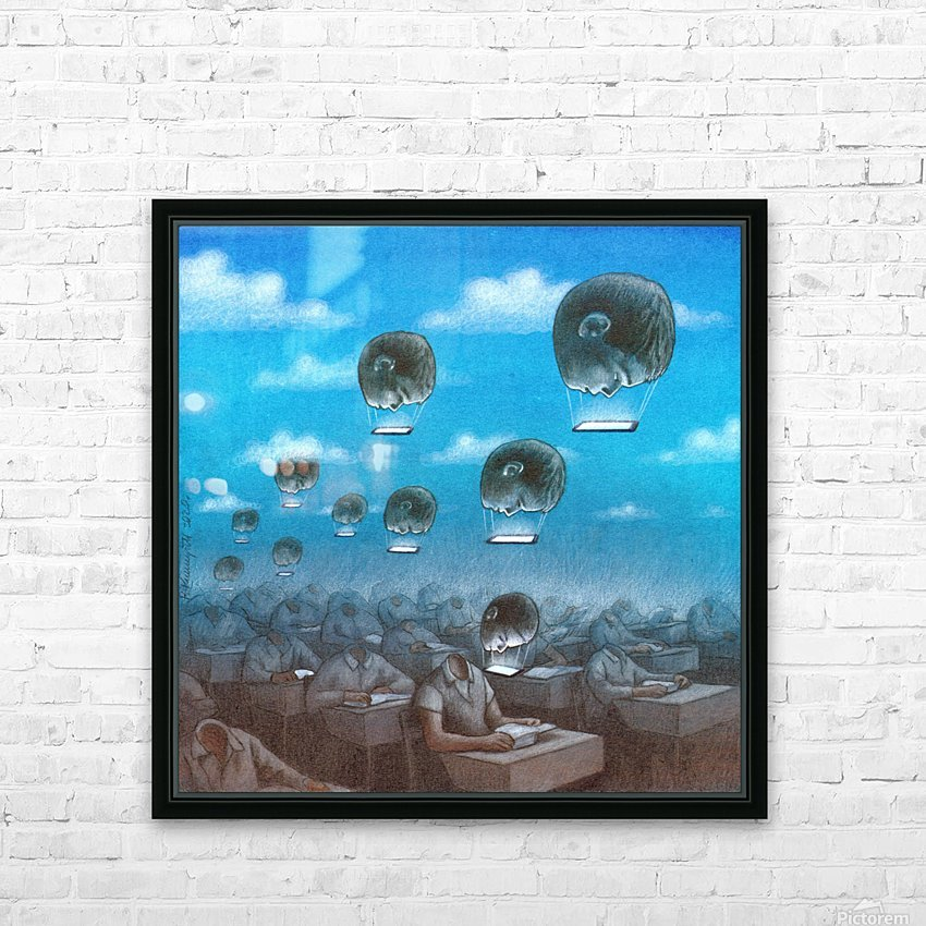 odloty HD Sublimation Metal print with Decorating Float Frame (BOX)