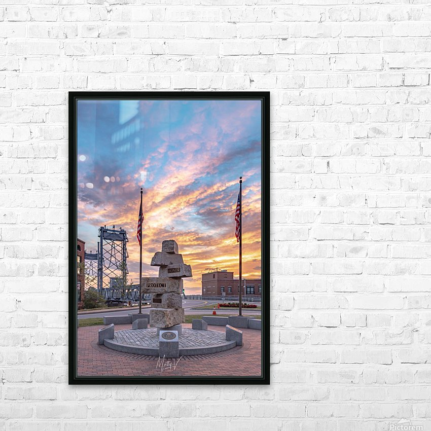 Remembering Them HD Sublimation Metal print with Decorating Float Frame (BOX)