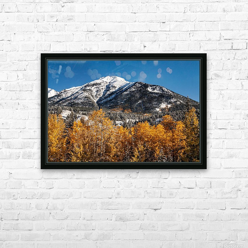 Lady MacDonald Fall IMG_7091 HD Sublimation Metal print with Decorating Float Frame (BOX)