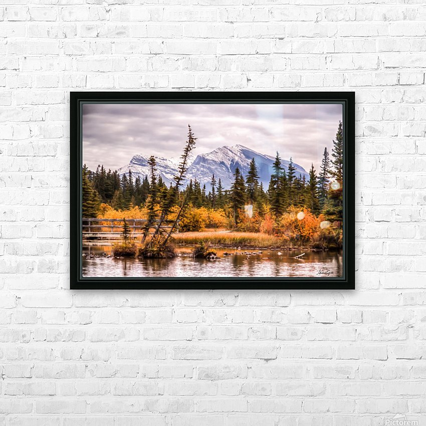 Policemans Creek and Grotto Mtn IMG_3003_4_5 PS_ HD Sublimation Metal print with Decorating Float Frame (BOX)