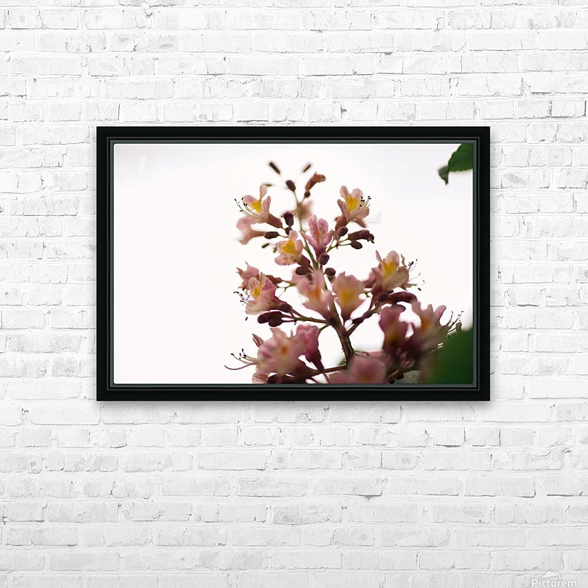 Wild Flowers 2 HD Sublimation Metal print with Decorating Float Frame (BOX)