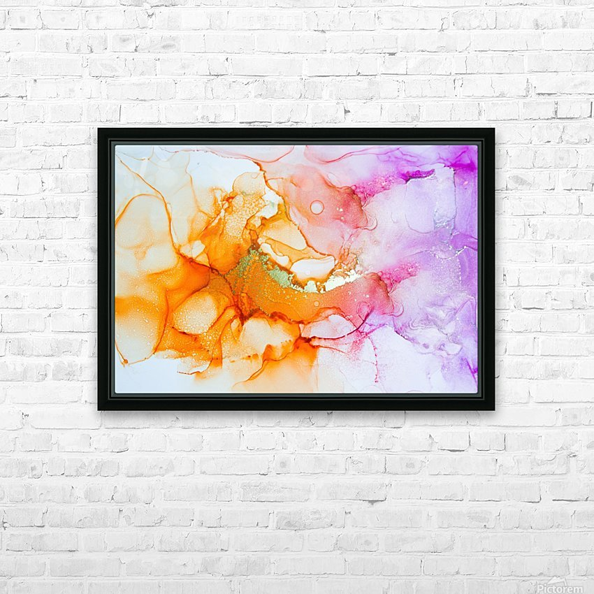 open up HD Sublimation Metal print with Decorating Float Frame (BOX)
