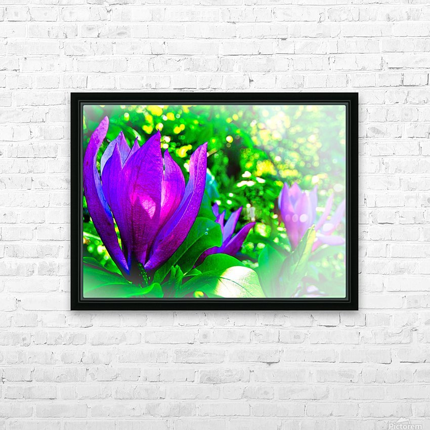 Mauve HD Sublimation Metal print with Decorating Float Frame (BOX)