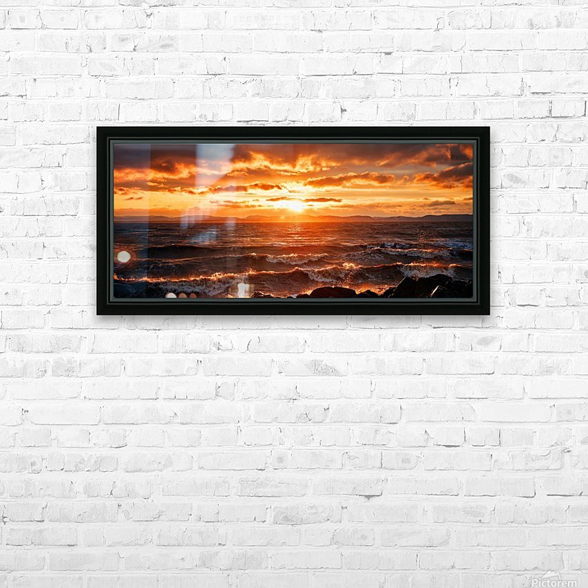 PNPG2989 HD Sublimation Metal print with Decorating Float Frame (BOX)
