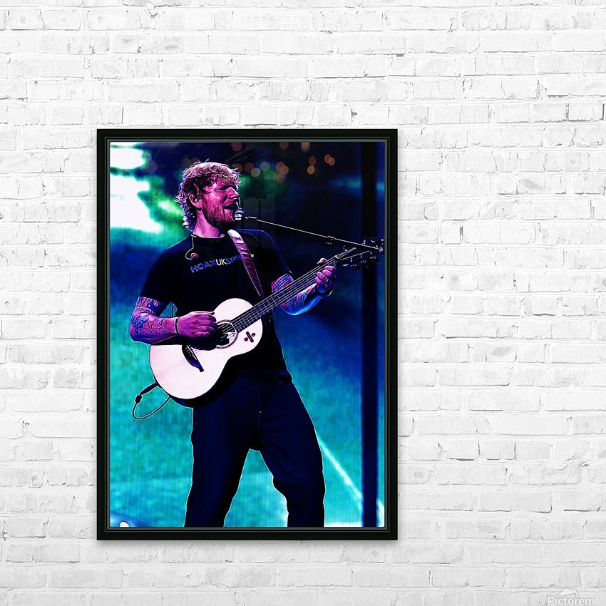 edsheeran HD Sublimation Metal print with Decorating Float Frame (BOX)
