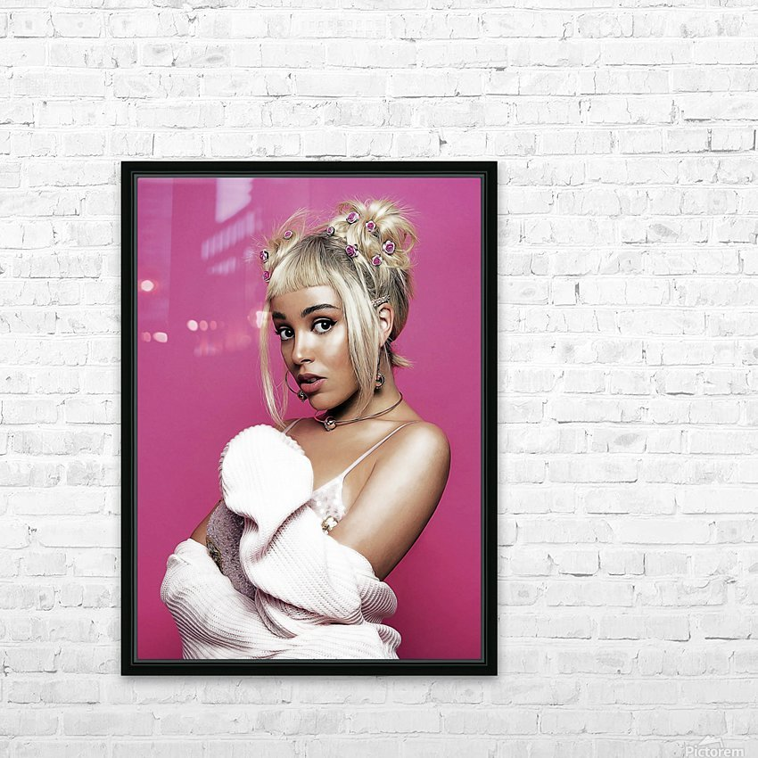 dojacat2 HD Sublimation Metal print with Decorating Float Frame (BOX)