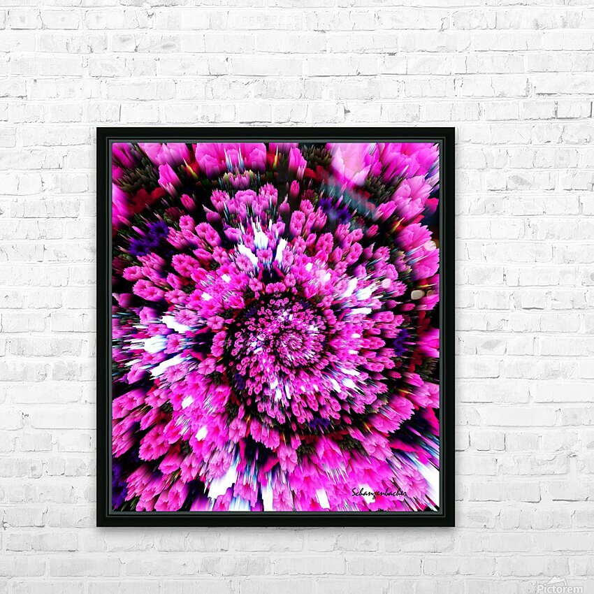 Getting Lost in Pink HD Sublimation Metal print with Decorating Float Frame (BOX)