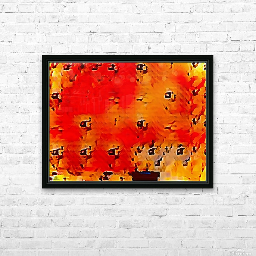 Nature The  Art of Blushing HD Sublimation Metal print with Decorating Float Frame (BOX)