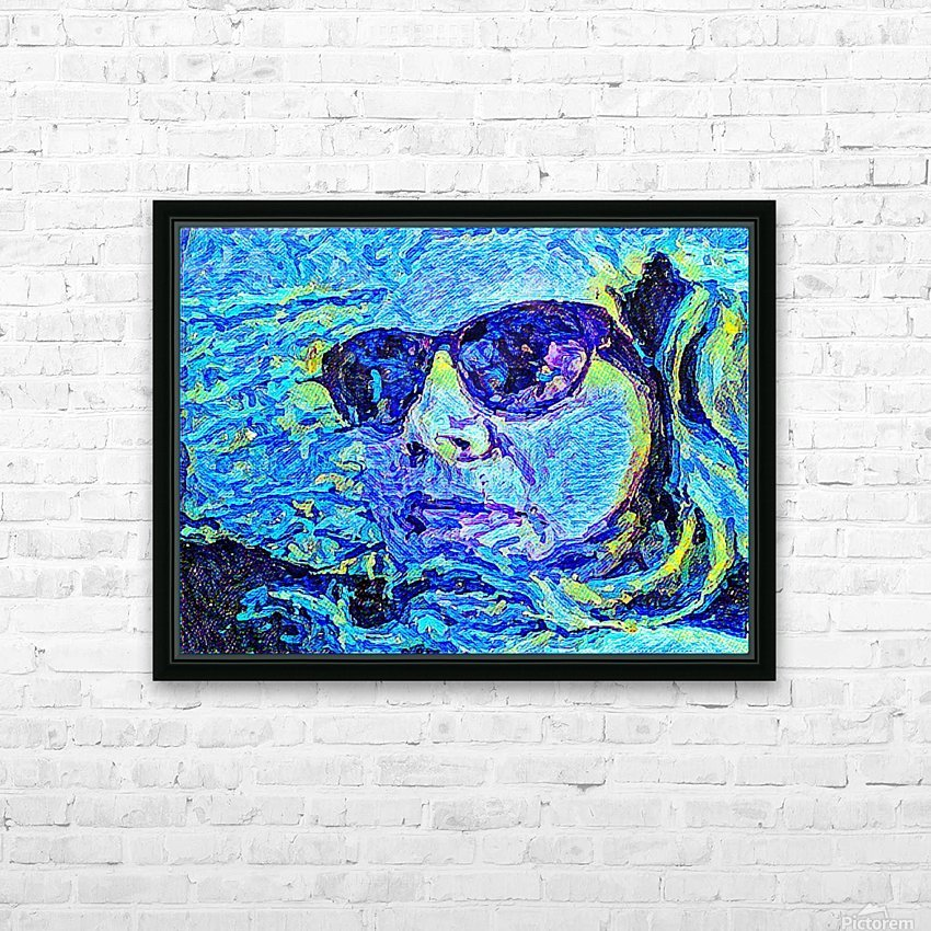 Graffiti  HD Sublimation Metal print with Decorating Float Frame (BOX)