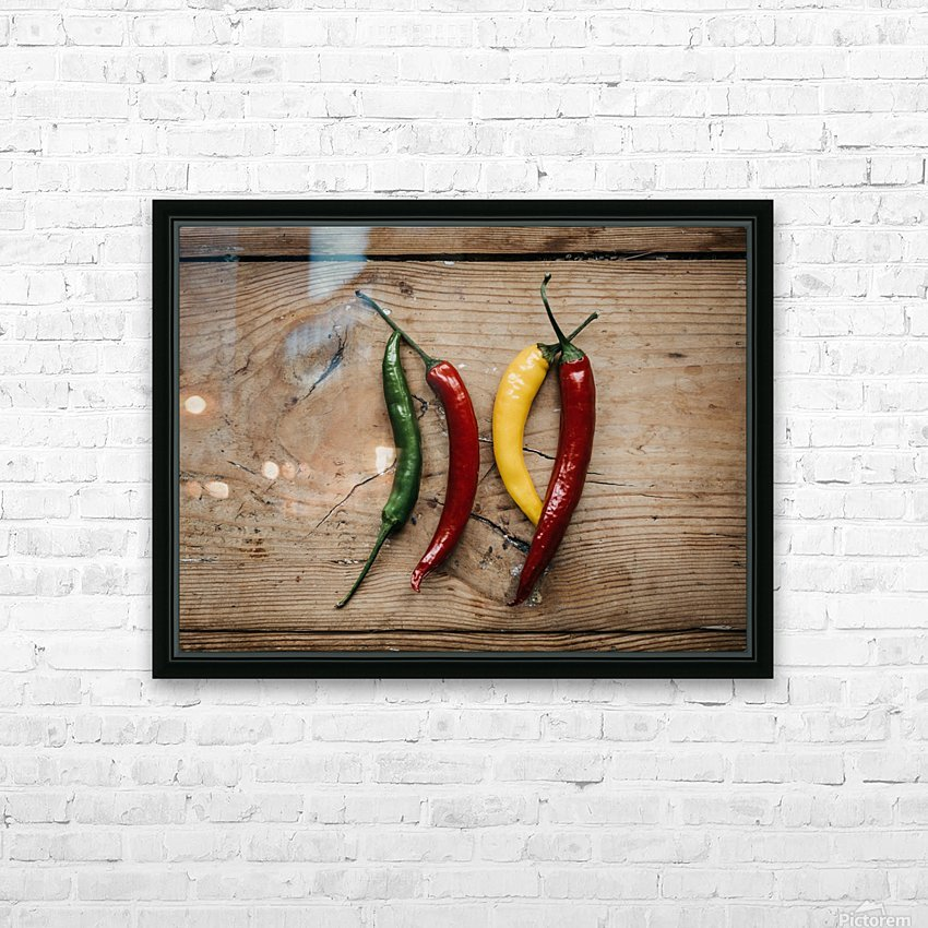 Spice it  HD Sublimation Metal print with Decorating Float Frame (BOX)