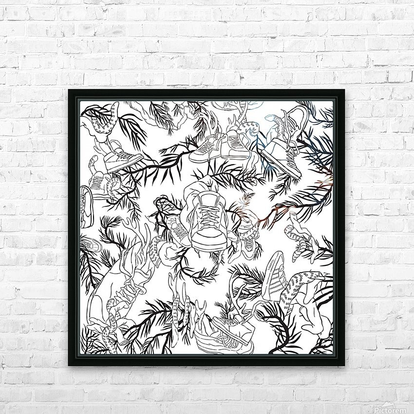pieceofmyart5 HD Sublimation Metal print with Decorating Float Frame (BOX)