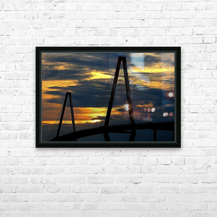 Ravanel Sunset HD Sublimation Metal print with Decorating Float Frame (BOX)