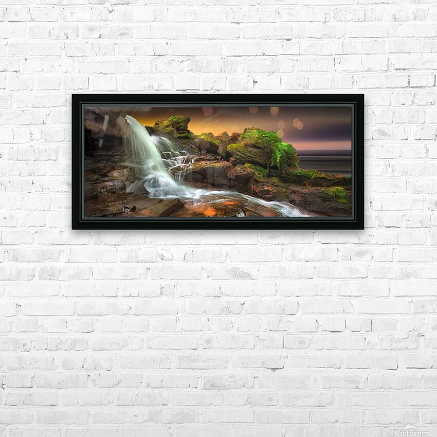 Melincourt Brook HD Sublimation Metal print with Decorating Float Frame (BOX)