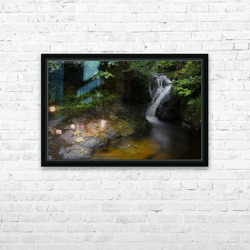 The colours of Blaen y Glyn  HD Sublimation Metal print with Decorating Float Frame (BOX)