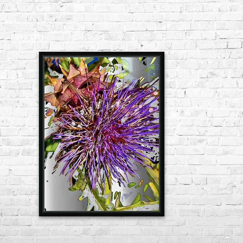 Thistle 200827 HD Sublimation Metal print with Decorating Float Frame (BOX)