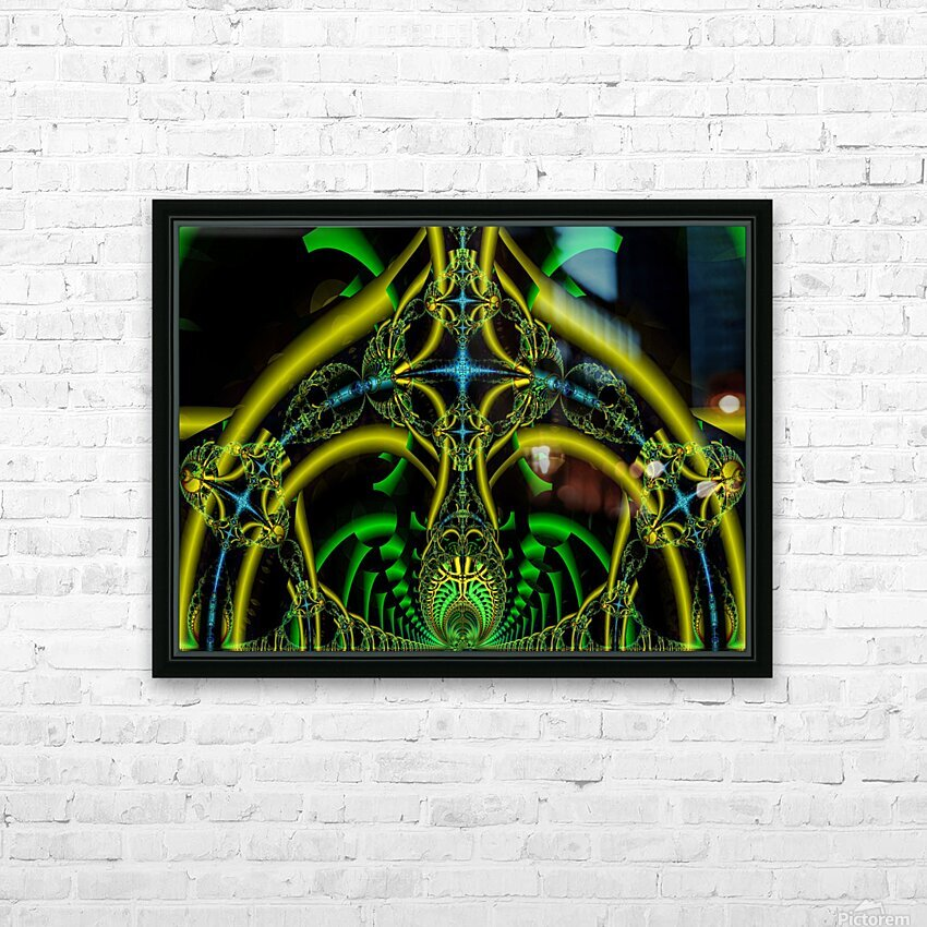 Trifunctional  HD Sublimation Metal print with Decorating Float Frame (BOX)