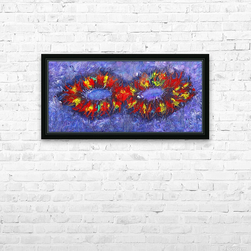 Infinity HD Sublimation Metal print with Decorating Float Frame (BOX)