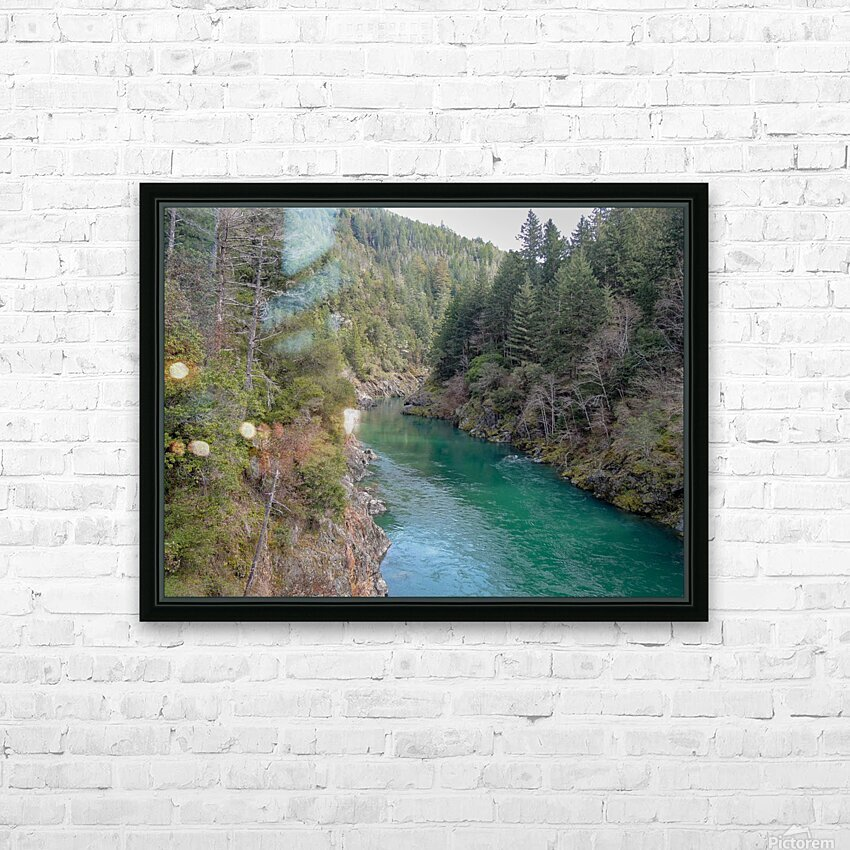 Outside Crescent City HD Sublimation Metal print with Decorating Float Frame (BOX)
