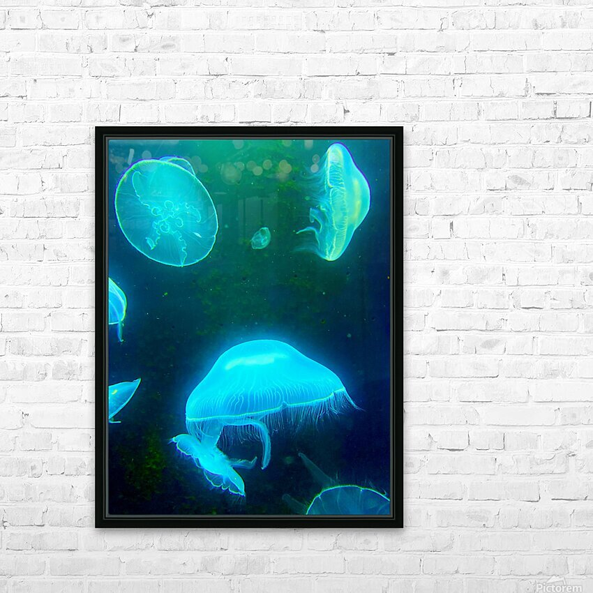 Venture into the Abyss HD Sublimation Metal print with Decorating Float Frame (BOX)