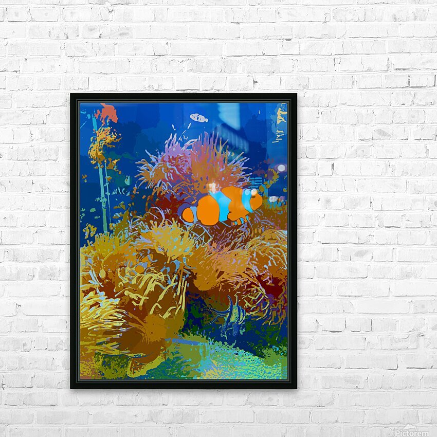 Journey to the Unknown  HD Sublimation Metal print with Decorating Float Frame (BOX)