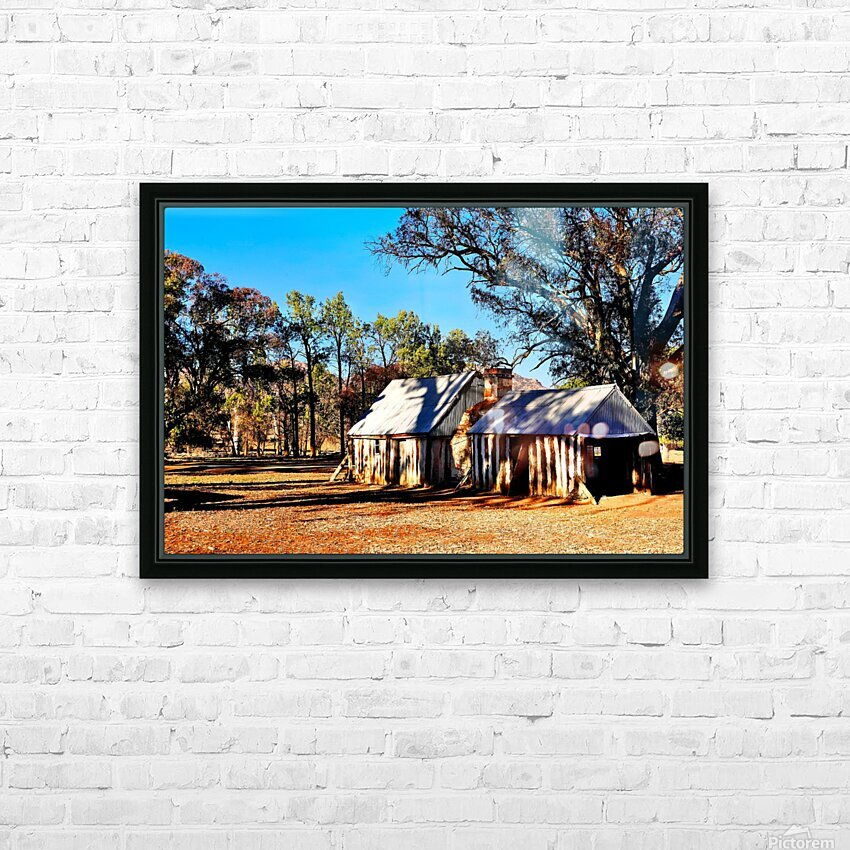 Old Wilpena Station  HD Sublimation Metal print with Decorating Float Frame (BOX)
