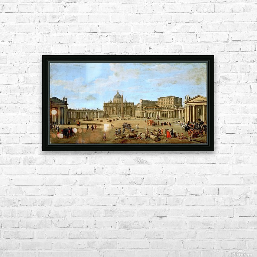 Kunsthistorisches Museum HD Sublimation Metal print with Decorating Float Frame (BOX)