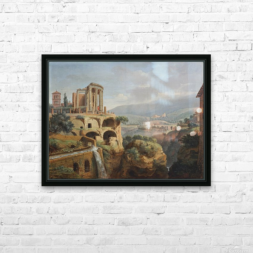 Citadel on the hill HD Sublimation Metal print with Decorating Float Frame (BOX)